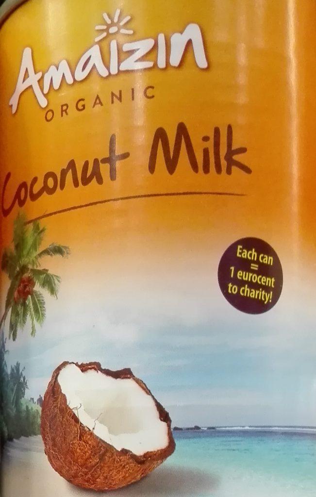 Mleko kokosowe Amaizin