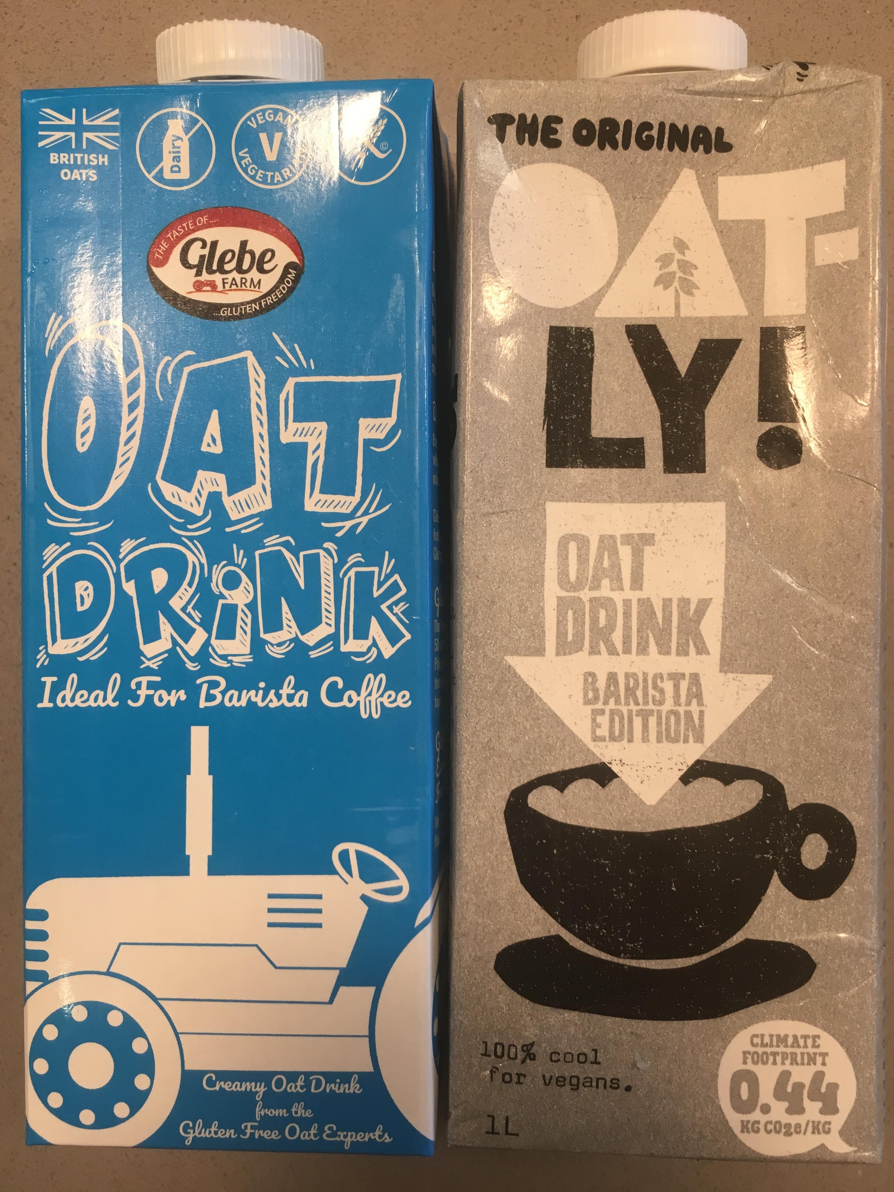 Mleko roślinne do kawy